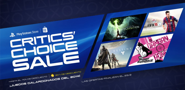 Critics Choice Sale PS Store febrero