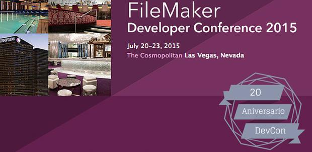 Precios y fechas del FileMaker DevCon 2015