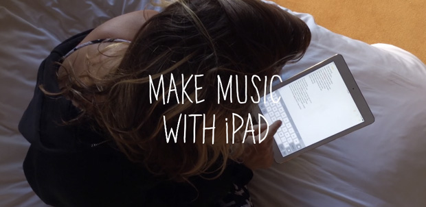 Con un iPad es más simple crear música