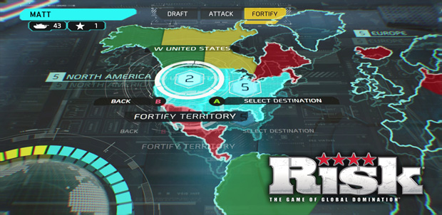 RISK disponible en Xbox One y PlayStation 4