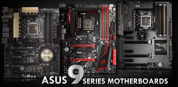 ASUS con los nuevos procesadores Intel
