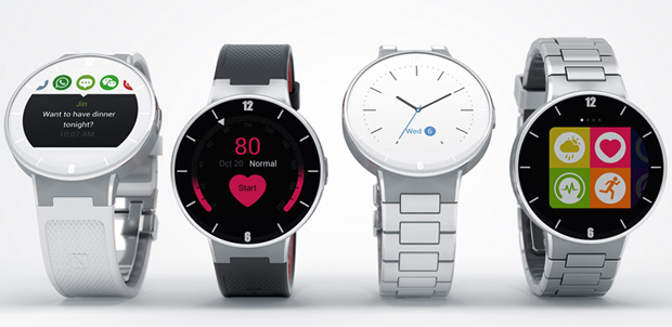Alcatel Onetouch Watch para sistema iOS