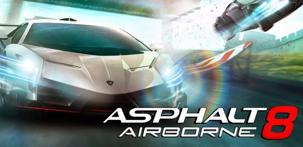 Asphalt 8: Airborne el mejor juego móvil
