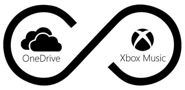 OneDrive permite hasta 50,000 canciones