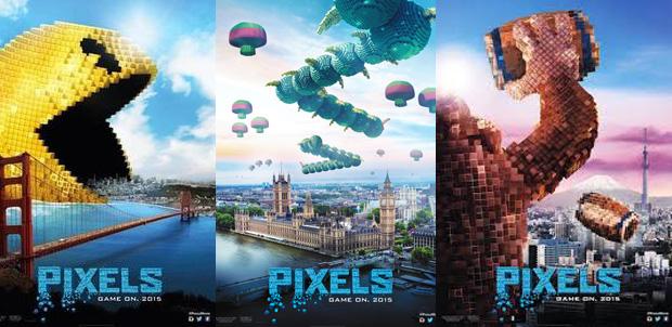 El primer avance de la nueva cinta Pixels