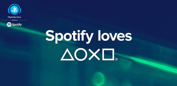 Spotify disponible para PlayStation 4 y Xperia