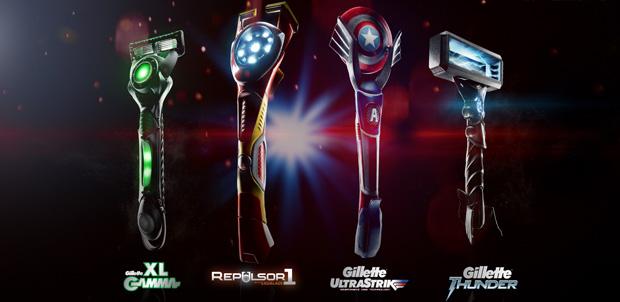 Afeitadora Gillette inspirada en Age of Ultron