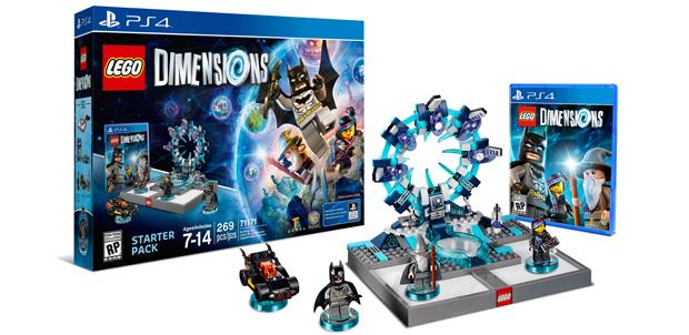 LEGO Dimensions nos llevará por muchos lugares