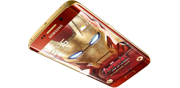 Galaxy S6 edge se pone el traje de Iron Man