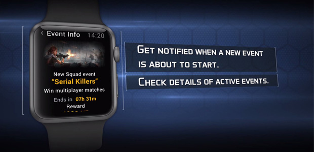 Juegos de Gameloft compatibles con Apple Watch