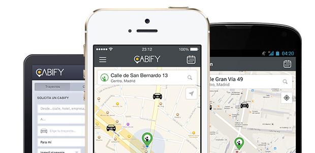 Cabify Mexico app