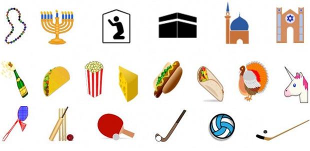 Taco, unicornio, burrito son los nuevos emojis
