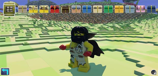 Llegó la competencia de Minecraft: LEGO Worlds