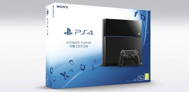 PlayStation 4 CUH-1200 con 1TB de espacio
