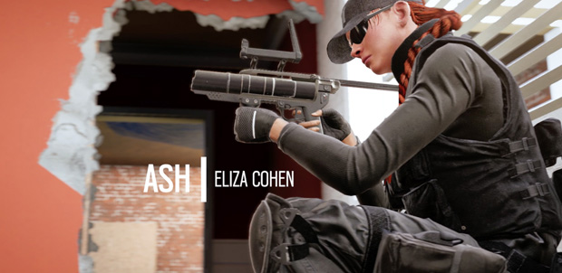 Rainbow Six Siege Eliza Cohen
