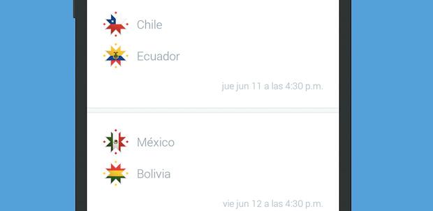 Twitter Seleccion Copa America 2015