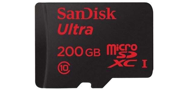 Amazon ya vende la tarjeta microSD de 200GB