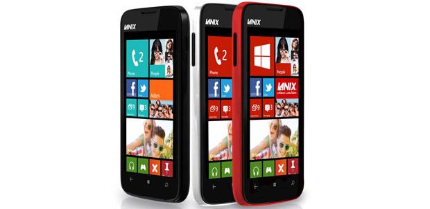 El primer smartphone de Lanix con Windows Phone