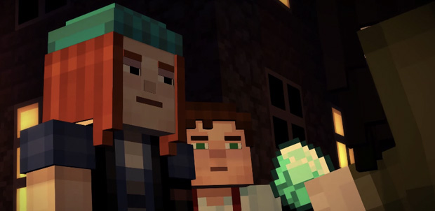 Minecraft Story Mode trailer