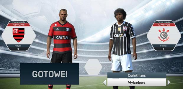 CR Flamengo SC Corinthians FIFA 16