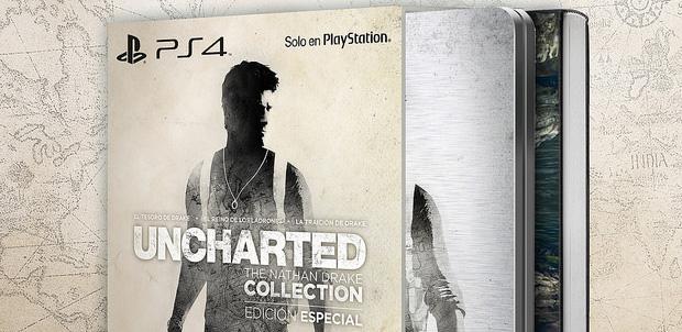 Edicion especial de Uncharted The Nathan Drake Collection