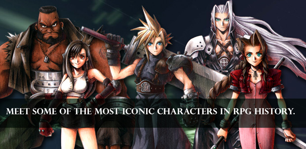 Final Fantasy VII está disponible para iPhone o iPad