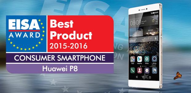 Para EISA, Huawei P8 es el mejor smartphone en Europa