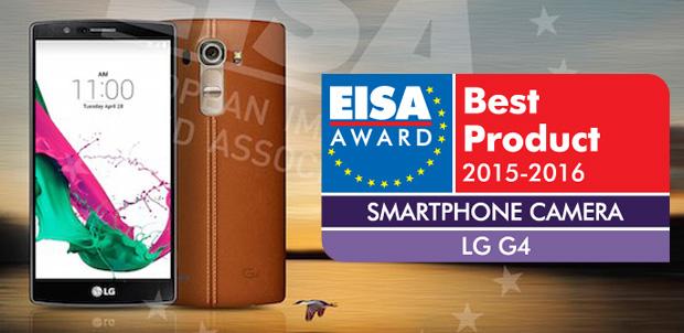 Para EISA, LG G4 tiene la mejor cámara en toda Europa