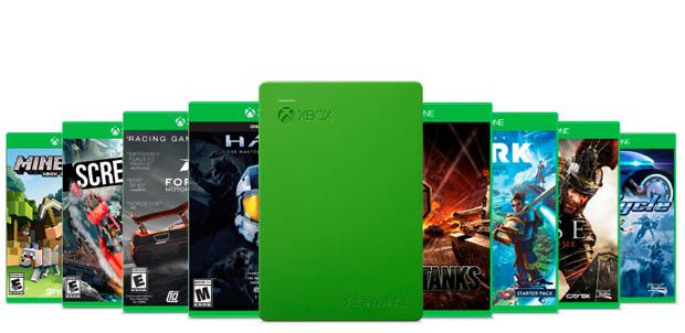 Seagate y Microsoft lanzan disco duro de 2TB para Xbox