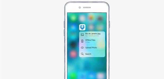 Dropbox se actualiza y es compatible con iOS 9