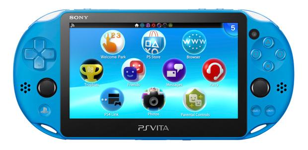 PlayStation Vita en Blue Aqua llega en noviembre
