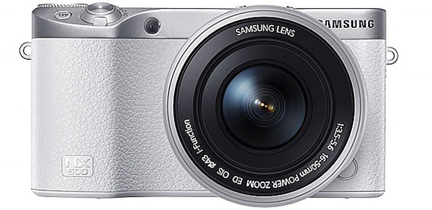 Samsung NX500 con grabación en video 4K y NFC