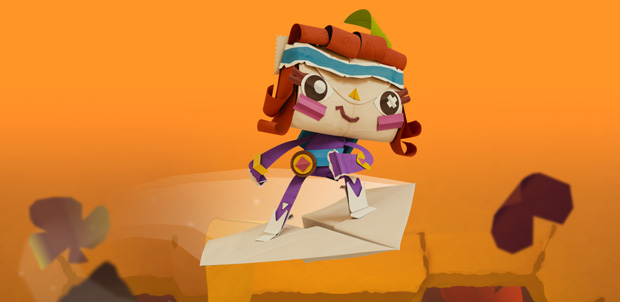 Tearaway Unfolded ya está disponible para PlayStation 4