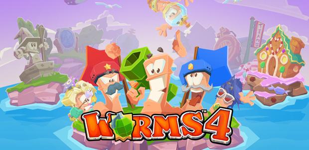 Worms 4 se lanza para iPhone o iPad