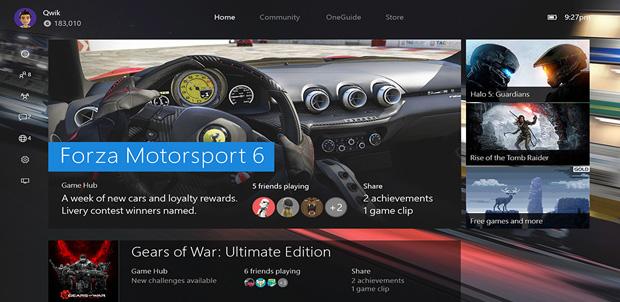 Algunas de las novedades que tendrá la Xbox One