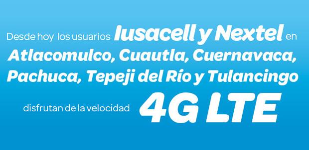 La red 4G LTE de AT&T llega a más ciudades de México