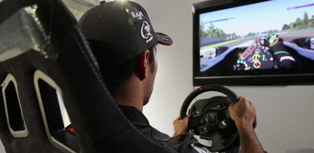 Checo Perez F1 2015 Mexico