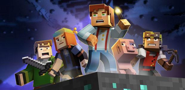 Estos son los protagonistas de Minecraft Story Mode