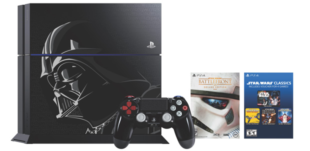 PlayStation 4 de Darth Vader en Amazon México