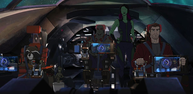 Guardianes de la Galaxia tendrá nuevos capítulos animados