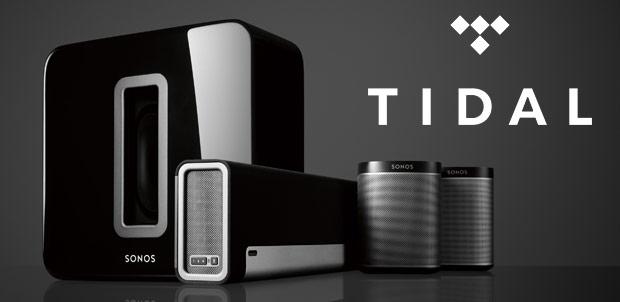 Sonos TIDAL