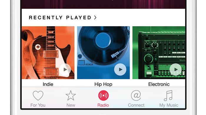 Conoce los apartados de Apple Music para Android