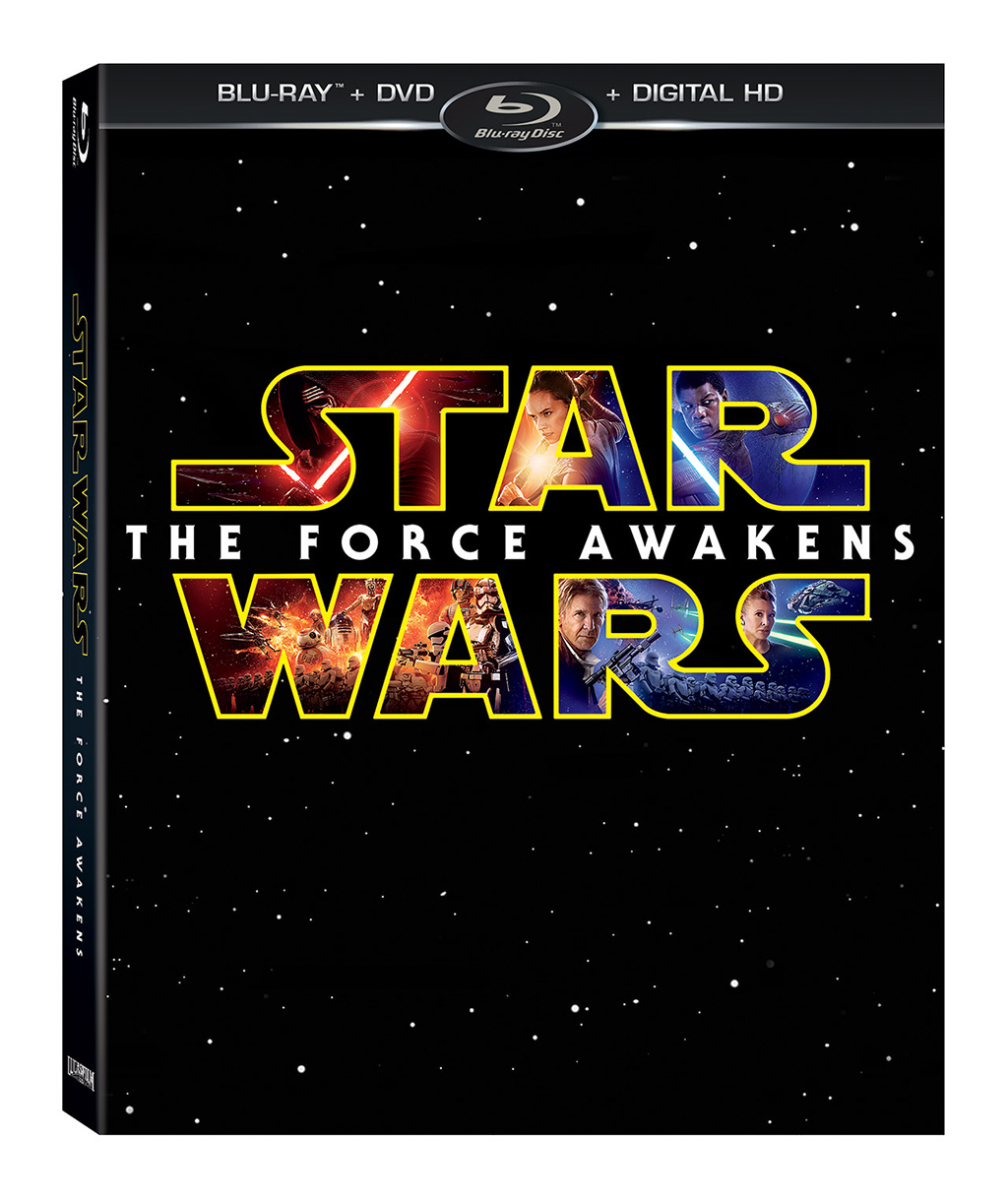 Blu-ray-Star Wars El Despertar de la Fuerza Combo