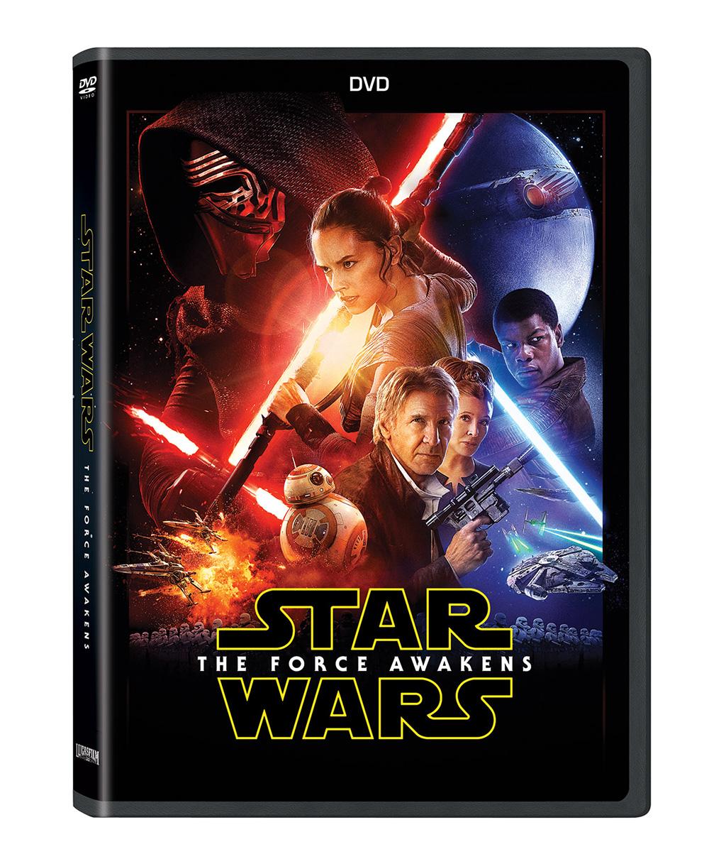 Blu-ray-Star Wars El Despertar de la Fuerza DVD