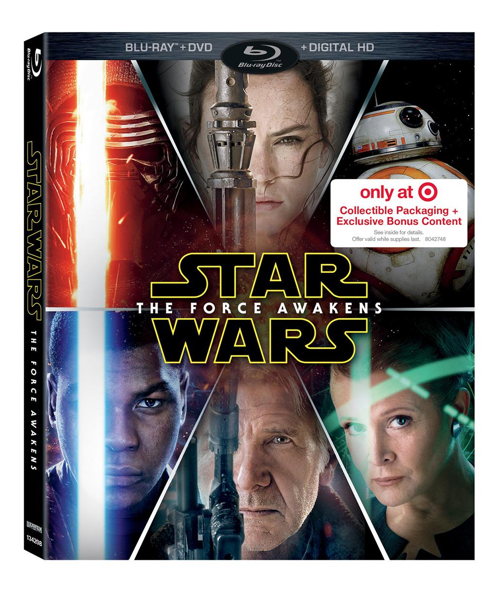 Blu-ray-Star Wars El Despertar de la Fuerza Target