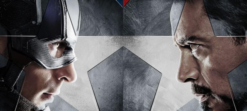 Capitan America Civil War póster