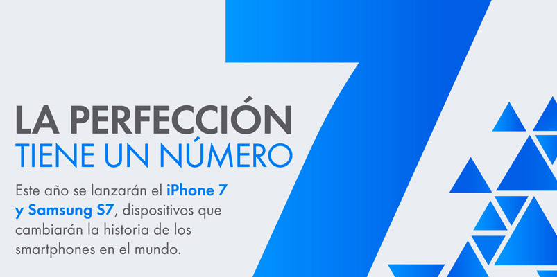 ¿Qué es lo que tendrán Galaxy S7 e iPhone 7?