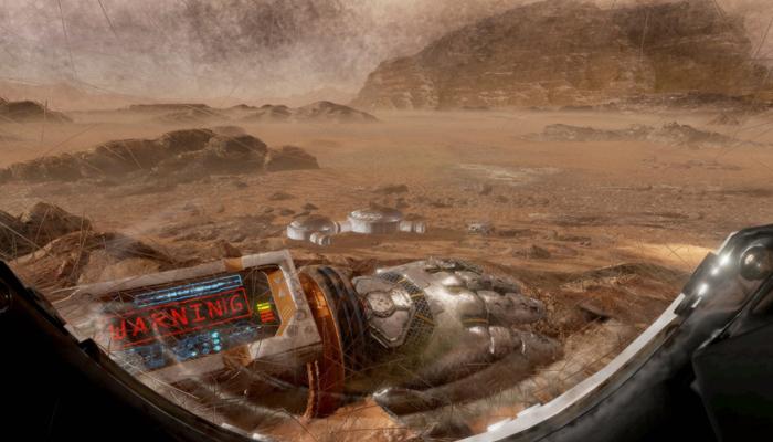 The Martian en Gear VR