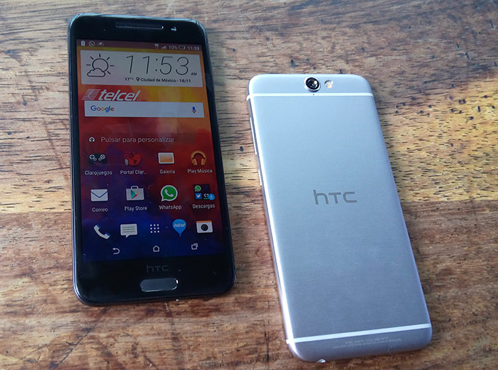 HTC One A9 con Telcel