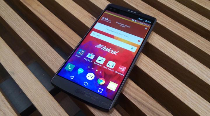 LG V10 llega a México en exclusiva con Telcel